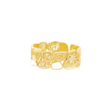 anel skinny honey de filigrana em prata joias sui jewellery silver ring filigree nana