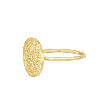 anel astral in gold filigrana ouro joias sui jewellery earrings tradicional modern filigree ines barbosa