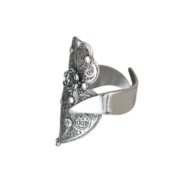 anel coracao de viana joias sui jewellery prata filigrana jewellery silver ring filigree portuguese heart nana