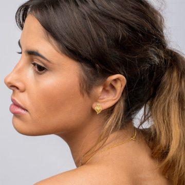 brincos coracao de viana mini xs in gold filigrana ouro joias sui jewellery earrings tradicional portuguese heart filigree ines barbosa