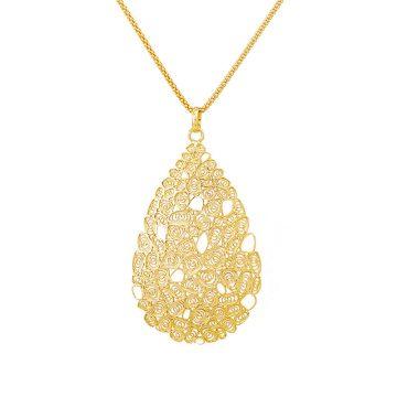 colar filigrana prata tear honey joias sui prata dourada esmalte sui jewellery filigree necklace silver nana