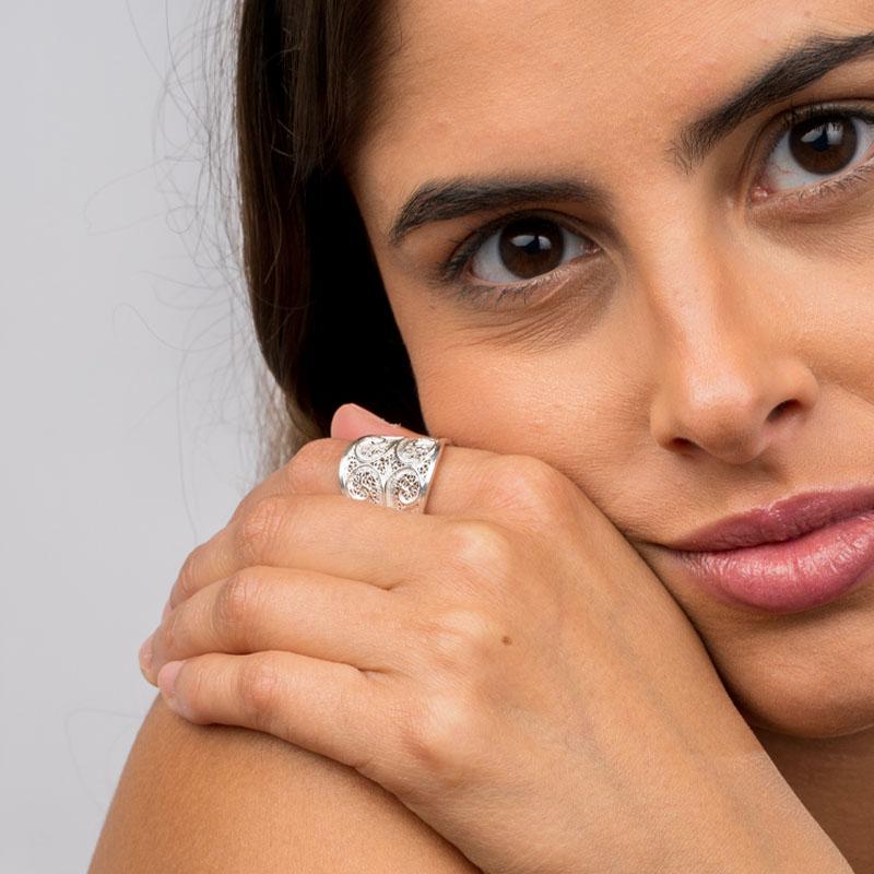 anel singular joias sui jewellery jewel nana filigrana prata ring