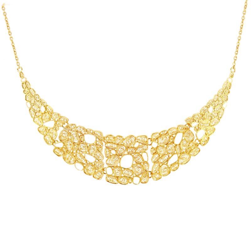 colar honey joias sui jewellery nana prata necklace silver enamel esmalte white